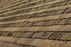 Tetto di legno per la Camera di ceppo Fotografia Stock Libera da Diritti