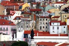 Tetto di Lisbona Immagini Stock Libere da Diritti