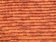 Tetto di mattonelle Fotografia Stock Libera da Diritti