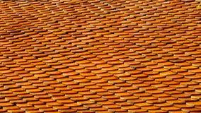 Tetto di mattonelle. Fotografie Stock