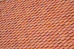 Tetto di mattonelle. immagine stock