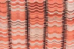Tetto di mattonelle Immagine Stock