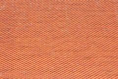 Tetto di mattonelle del tempio buddista fotografia stock