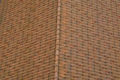 Tetto di mattonelle della casa Fotografie Stock