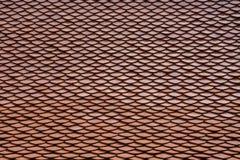 Tetto di mattonelle rosse Immagini Stock