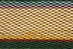 Tetto di mattonelle variopinto fotografia stock