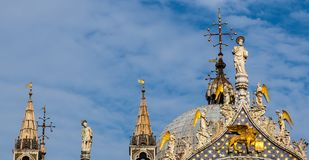 Tetto di San Marco fotografie stock