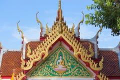 Tetto di tample tailandese Fotografia Stock Libera da Diritti