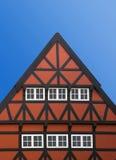 Tetto di una casa bavarese Fotografia Stock