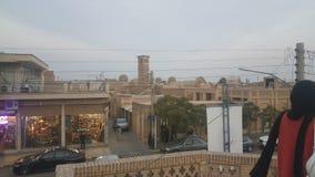 tetto di vecchi bagni iraniani immagine stock libera da diritti