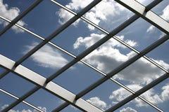 Tetto di vetro Immagine Stock Libera da Diritti