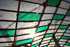 Tetto di vetro Fotografie Stock Libere da Diritti