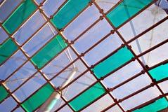 Tetto di vetro Fotografie Stock