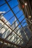 Tetto di vetro del self-service alla cattedrale di Salisbury immagine stock libera da diritti