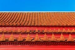 Tetto di Wat Benjamaborphit Immagine Stock