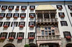 Tetto dorato di Innsbruck Fotografia Stock Libera da Diritti