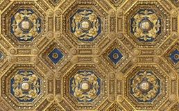 Tetto dorato in Palazzo Vecchio Fotografia Stock Libera da Diritti