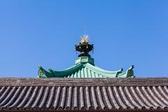 Tetto giapponese fotografia stock libera da diritti