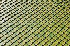 Tetto Green01 superiore Fotografie Stock