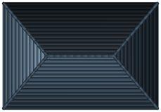 Tetto grigio dalla vista superiore illustrazione vettoriale