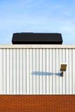 Tetto industriale Fotografie Stock