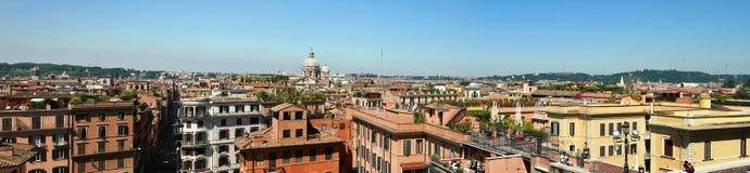 Tetto italiano Roma Fotografie Stock