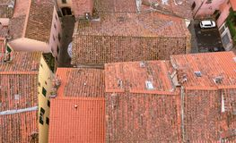 Tetto, Lucca Fotografia Stock