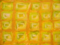 Tetto quadrato astratto Fotografie Stock