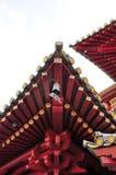 Tetto-riga di tempiale del Buddha Immagini Stock