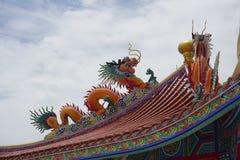 tetto stile cinese Fotografia Stock