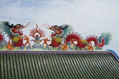 tetto stile cinese Immagine Stock