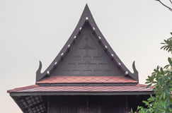 Tetto Sud-est asiatico antico Immagini Stock