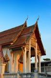 Tetto tailandese del tempiale Immagini Stock