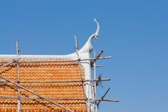 Tetto tailandese del tempiale Fotografie Stock Libere da Diritti