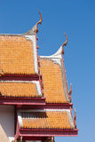 Tetto tailandese del tempiale Fotografia Stock Libera da Diritti