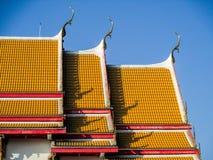 Tetto tailandese del tempiale Immagine Stock Libera da Diritti