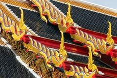Tetto tailandese del tempiale Immagini Stock Libere da Diritti