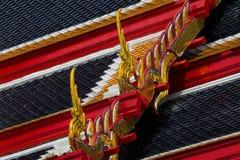 Tetto tailandese del tempiale Fotografia Stock
