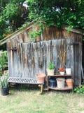 Tettoia del cortile Fotografia Stock