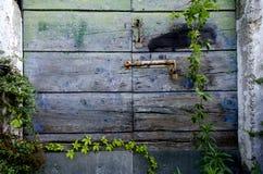 Tettoia di legno fotografia stock