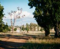 Tettoia rurale sulla proprietà Immagine Stock Libera da Diritti