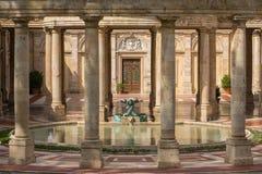 Tettuccio Terme温泉-最著名的温泉在蒙泰卡蒂尼泰尔梅, 库存图片
