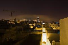 Tetuan at night, Morocco Stock Photos