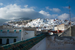 Tetuan white houses Royalty Free Stock Images