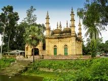 Tetulia沙赫六satkhira的,孟加拉国圆顶清真寺 库存照片