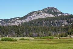 Teufel-Hügel von den Sparks See-Überschwemmungsgebieten Stockfotos