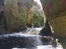 Teufel Kanzel, Wasserfall stockfotografie