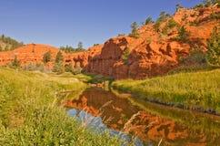 Teufel-Kontrollturm-nationales Denkmal, Wyoming, USA Lizenzfreies Stockbild