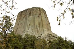 Teufel-Kontrollturm in Wyoming Stockbilder