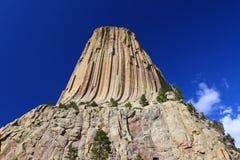 Teufel-Kontrollturm in Wyoming Lizenzfreie Stockbilder